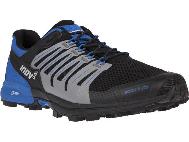 inov-8 RocLite G 275 Zapatillas Hombre, black/blue